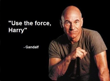 Use the force, Harry